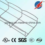 Bandeja de cabo flexível do engranzamento de fio