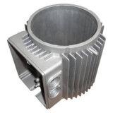 Pezzo fuso di macchina di alluminio della lega su ordinazione