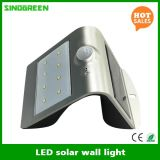 LEDのセンサーLEDの太陽壁ライトRoHSの太陽壁ランプのスマートな太陽及びセリウム