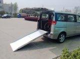 rampes de charge en aluminium du fauteuil roulant 350kg pour le passager de fauteuil roulant