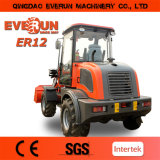 Everun Brand Agricultural Wheel Loader Er12 mit Snow Bucket
