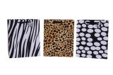 Sacos de papel do leopardo luxuoso da compra