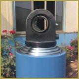 Cilindro hidráulico de Jack do RAM longo ativo do dobro de 1 tonelada