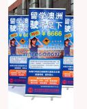 대 Banner 또는 Portable Banner 또는 Digital Printing Durable Stand Flag, Display Banner (SF-002) 높은 쪽으로 Roll