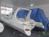Barco inflable de la pequeña del motor del Panga de la fibra de vidrio de Liya los 22ft costilla de China