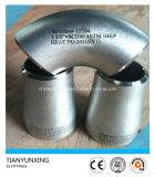 Guarniciones inconsútiles del acero inoxidable de la autógena de tope de Ss304/1.4301 Sch40s