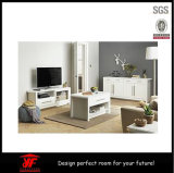 LCD verwendete hölzerne Möbel-Liebhaberei Vorhalle verwendete Fernsehapparat-Standplatz-Abbildungen