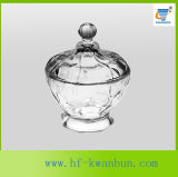 明確なガラス砂糖菓子ボールの軽食ボールの台所用品のKbHn0366