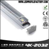 4203LED het Licht van de strook voor van het LEIDENE van het Profiel de Verspreider Kanaal van het Aluminium