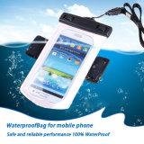 Waterdichte Zak van de Telefoon van de armband de Mobiele voor iPhone 8 met Oortelefoon