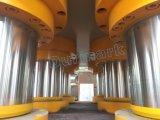 Porte de Dhp-5000t faisant à machine de presse de poinçon la machine gravante en relief de planche en acier de porte
