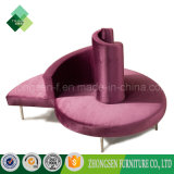 Presidenza rotonda del sofà del salotto della nuova di disegno mobilia dell'ingresso sulla vendita