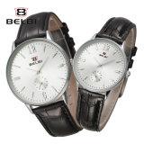 Belbi 한 쌍은 사업 시계 남자와 여자 형식 우연한 간단한 방수 사랑 시계를 만든다