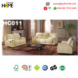 Sofá reclinável de couro funcional com venda quente