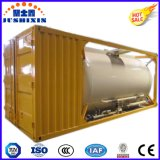 20feet 32tons 탄소 강철 고약 분말 탱크 콘테이너