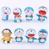 Brinquedos plásticos encantadores do vinil de Doraemon para miúdos