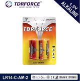 batería seca Lr14-C de la fabricación alcalina estupenda de 1.5V 0 hectogramo con Ce/ISO para la venta