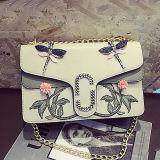 Sacchetto di spalla famoso su ordinazione delle donne di marche dei sacchetti di mano delle signore di immaginazione del ricamo di modo Sy8494