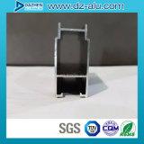 코스타리카 시장 알루미늄은 양극 처리된 청동을%s 가진 Windows 문을%s 단면도를 주문을 받아서 만들었다