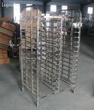 Op zwaar werk berekend Roestvrij staal 15 het Rek van de Bakkerij van Dienbladen voor Keuken