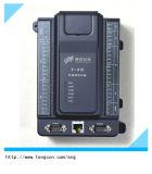 Controlador T-910 do PLC do baixo custo com 8ai/2ao/12di/8do