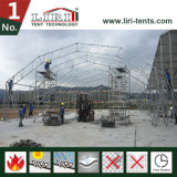 Barraca de aço da estrutura do polígono usada para o armazém industrial