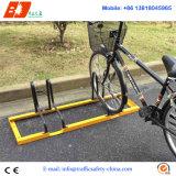 Crémaillère modèle spiralée de vélo de l'acier inoxydable 304, crémaillère électrique de stationnement de bicyclette