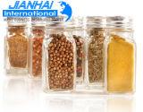 Vaso di muratore di vetro di varia di formati memoria dell'alimento