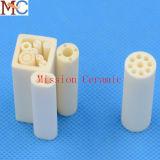 tubo poroso del aislador del alúmina 99.7% del 95%