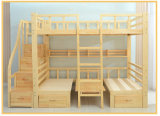 Ladder Ark (M-X1034)の素晴らしいStyle Hot Selling Wooden Bunk Bed