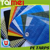 tissu de PE du HDPE 40GSM~300GSM pour couvrir de traité aux UV