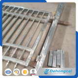 Deslizando la puerta del hierro labrado de la seguridad (dhgate-7)