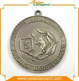 Médaille en métal de logo de modèle de promotion