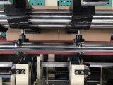 Vollautomatischer gewölbter Pappe-Kasten, der Maschine herstellend sich faltet und klebt