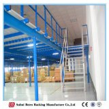 Assoalho de mezanino de aço, plataforma industrial do mezanino do armazenamento do metal