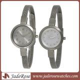 簡単なしかしニースの熱い販売のQuartz All女性ステンレス鋼の腕時計