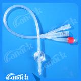 De medische Catheter van Foley van het Silicone van het Product met Ce ISO
