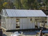 Конструкция быстрой дома длинной жизни установки африканской Prefab живущий домашняя
