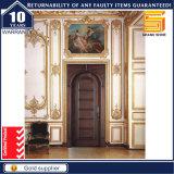 Porte en bois Composite solide Intérieur placage de bois de porte