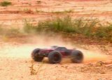 Carro elétrico sem escova do chassi RC do metal