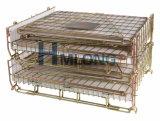 Клетка провода хранения пакгауза Preform любимчика цинка стальная