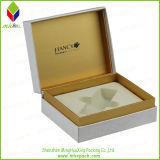 Caja de papel del alto grado de la hoja de oro impresión cosmética para Perfume