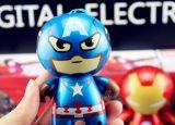 Крен 8800mAh силы шаржа капитана Baymax Утюга Человека Конструировать Америка