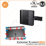 UL Dlc IP65 주차장 옥외 100W LED 구두 상자 빛