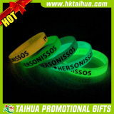Baixo Price Silicone Bracelet, Glow em The Dark Bracelet (TH-band105)