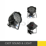 Stage professionnel Light 54X3w RVB 3in1 DEL PAR Can