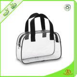 明確なプラスチックPVCジッパーのハンドバッグのショッピング・バッグ