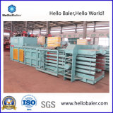 Machine hydraulique semi-automatique de presse à emballer pour le rebut de papier