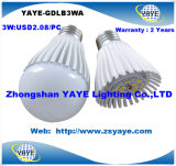 Yaye Best 2016 Sell 3W 5W 7W 9W 12W 15W 18W 30W 40W 50W E40 GU10 E14 B22 E27 LED Bulbs/LED Bulb Light (Availabe Watts: 1W-150W)