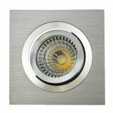 Alluminio GU10 MR16 Sauqre LED messo inclinazione Downlight (LT2301) del tornio